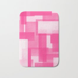 Modern Abstract No. 23 | Fucshia Bath Mat