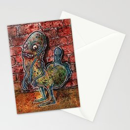 Dickbutt gone zombie Stationery Cards