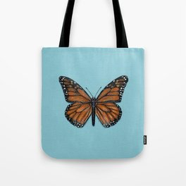 Monarch Butterfly Painting Tote Bag