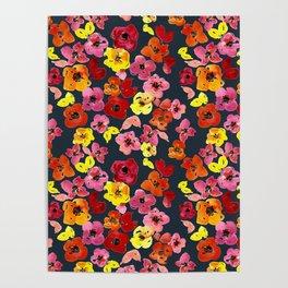 Olivia Florals Poster