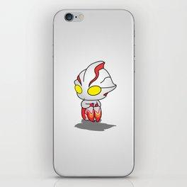 Ultraman Chibi iPhone Skin