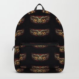 Skull And Beast Pattern 2 Backpack