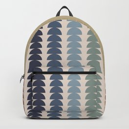 Maude Pattern- Vintage Multicolor Backpack