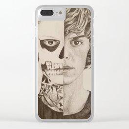 AHS Tate Clear iPhone Case