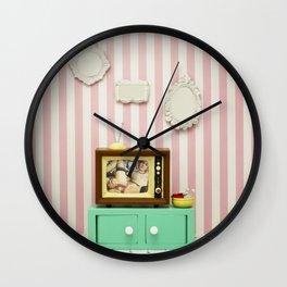 Playing Perfect  Wall Clock