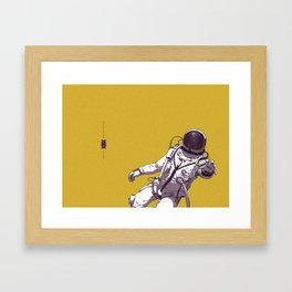 NEED FOR TRANSCENDENCE Framed Art Print