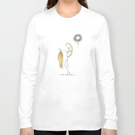 Banana Strip Long Sleeve T-shirt