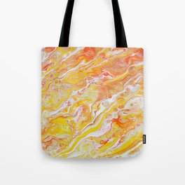 Summer Abstract #3 Tote Bag