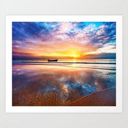 Boat Trip XIV Art Print