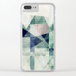art, wall art, home decor, abstract prints, large prints, abstract print, geometric wall art, modern Clear iPhone Case