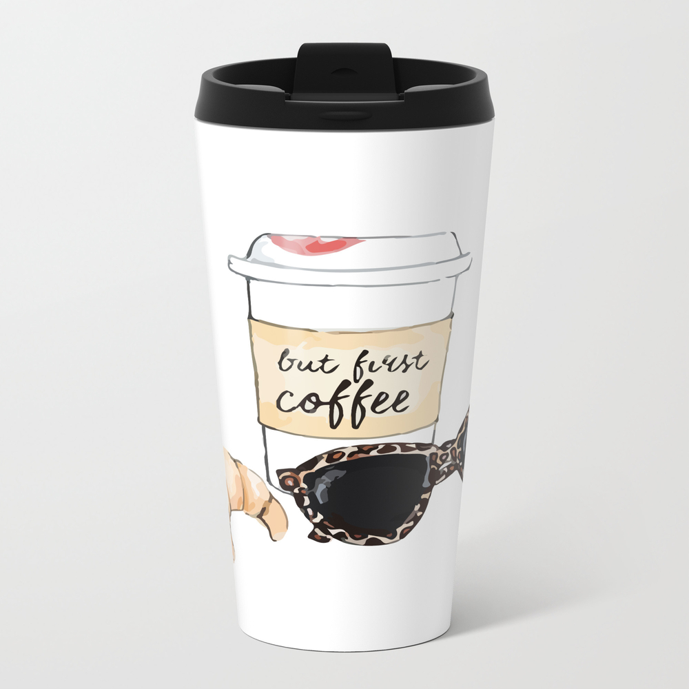 Coffee And Croissant Travel Cup TRM7900141