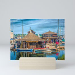 Center for Wooden Boats Mini Art Print