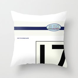 SRC Preparations 910 No.17 Facoory Throw Pillow