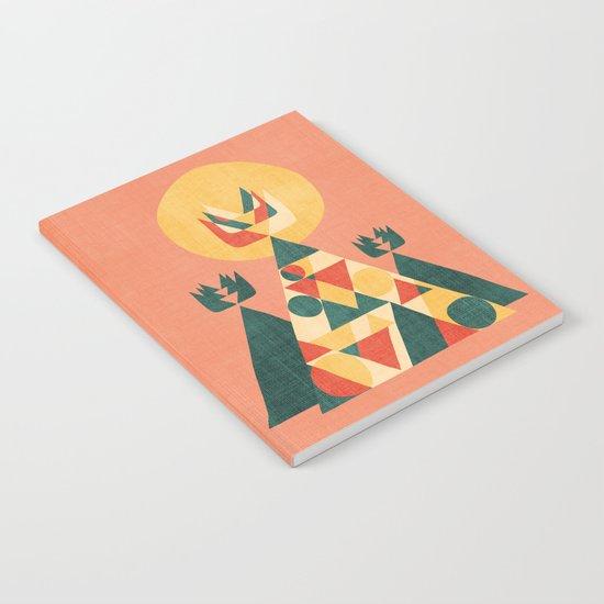 Sunset Tipi Notebook