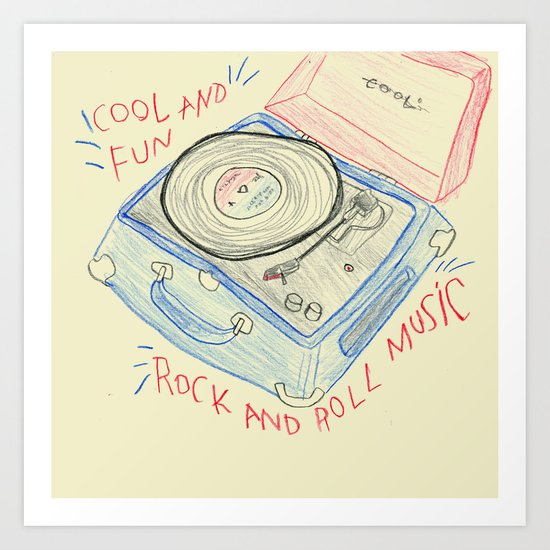 COOL & FUN Art Print