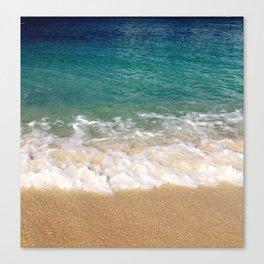 Cayman Waves Canvas Print