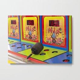 Whac-A-Mole Metal Print