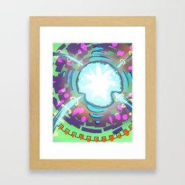 The Vital Core Framed Art Print