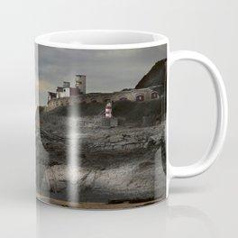 Steampunk / Burtonesque Coastal Fort Coffee Mug