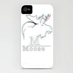 Moose 2 3D iPhone (4, 4s) Slim Case