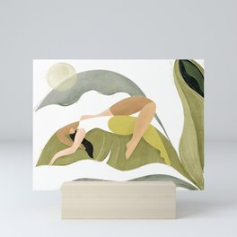 Banana palm Mini Art Print