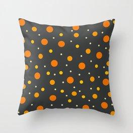 Classic Retro Dots 12 Throw Pillow