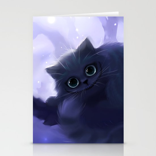 Chess Cat Stationery Cards
