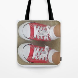 beauty in the mundane - my favorite pair of shoes Tote Bag