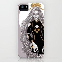 Lotus crown iPhone Case