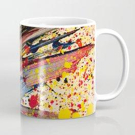 Abstract Spatter Coffee Mug