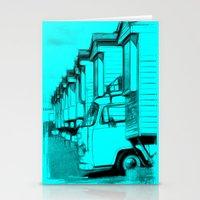 volkswagen Stationery Cards featuring Volkswagen Van by Rainer Steinke