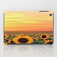 sunflower iPad Cases featuring Sunflower by Don't Be A Dick