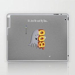 Just Me And My Boo Laptop & iPad Skin