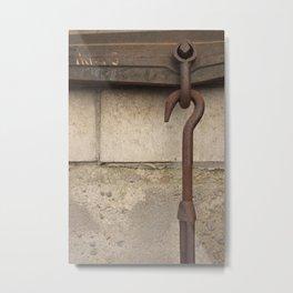 Hook Metal Print