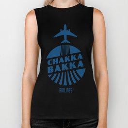 Chakka Bakka Airlines Biker Tank