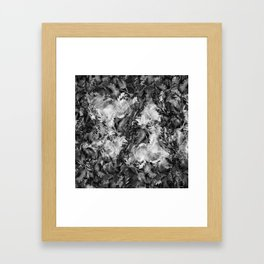 dimly Framed Art Print