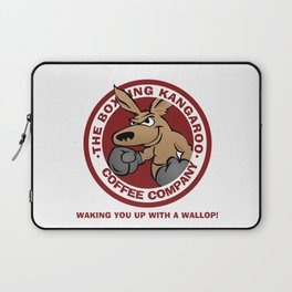 Boxing Kangaroo Coffee Company Laptop Sleeve