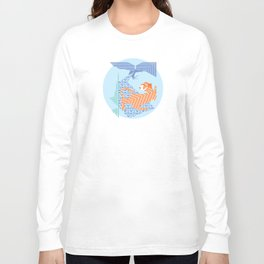 fray (colour) Long Sleeve T-shirt
