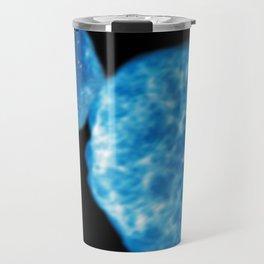Abstract Planetary Collision Travel Mug