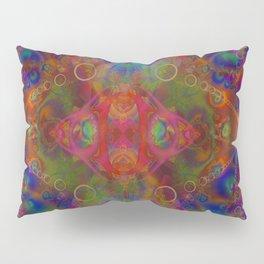 Sacred Geometry Art- Fractal Art- Abstract Art- Helix- Torus- The Eye of Tesla Pillow Sham