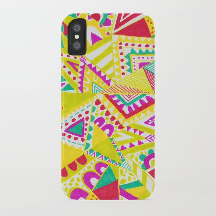 Circus Candy Gemetic iPhone Case