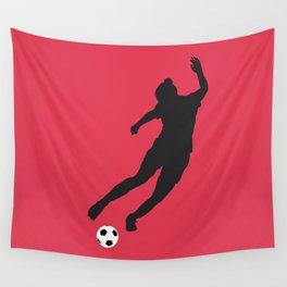 What a Kicker Wall Tapestry