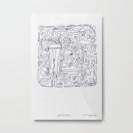 Art Maze Metal Print