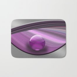 Lilac Ball  Bath Mat