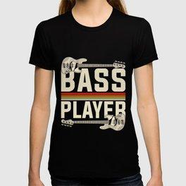 Bass Player Gift Musician T-shirt