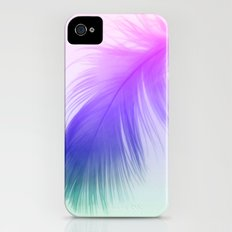 Painted Feather iPhone (4, 4s) Slim Case