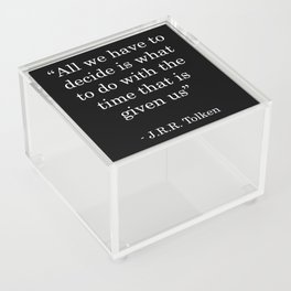 Time GIven Acrylic Box