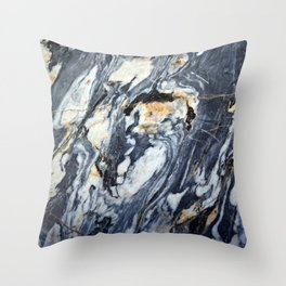 Marble Rock Throw Pillow