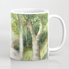 Trees by the canal Mug