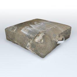 Fragile city Outdoor Floor Cushion